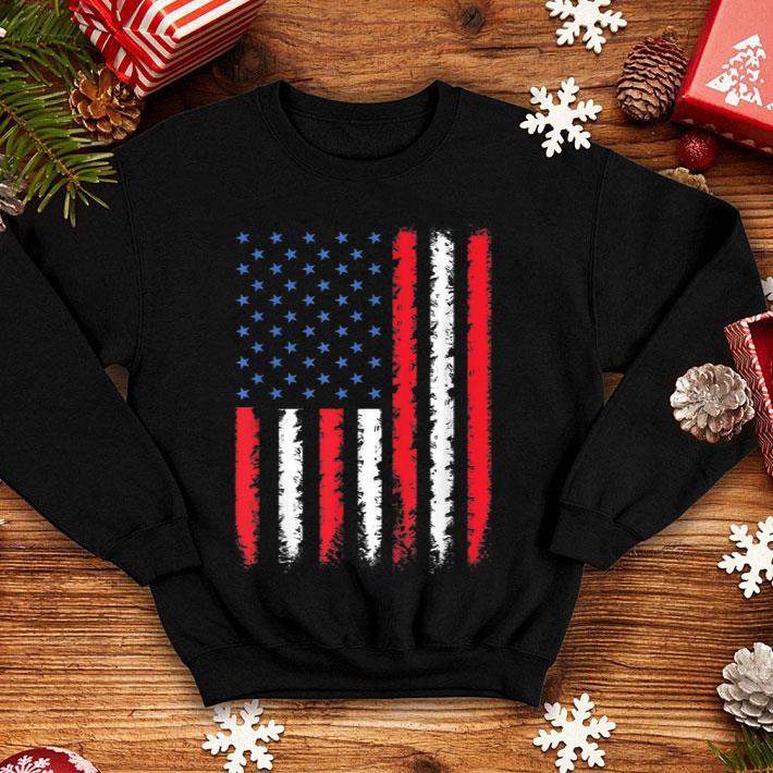 Merica USA American Flag 4th Of July shirt