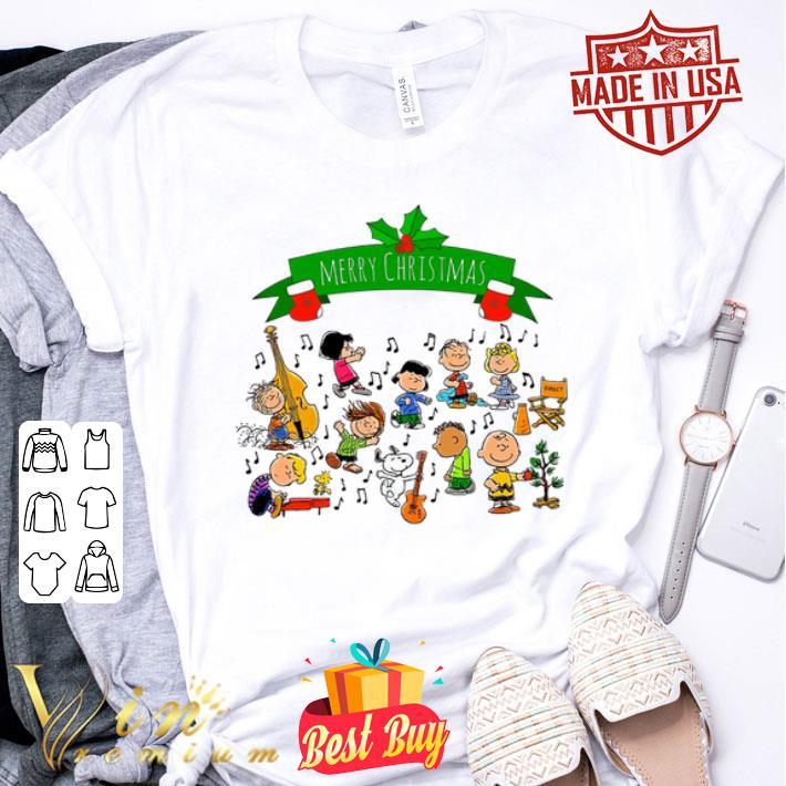 Merry Christmas Peanuts Friends shirt