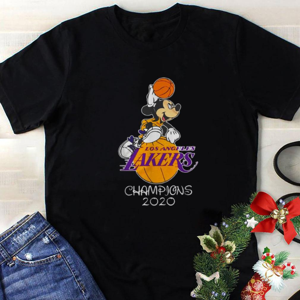 2020 Mickey champions Angeles Los Mouse Lakers shirt