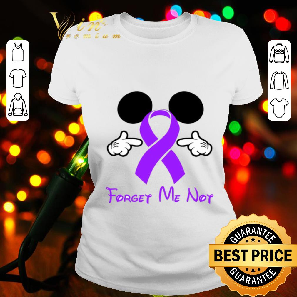 Mickey mouse forget me not Fibromyalgia Awareness shirt