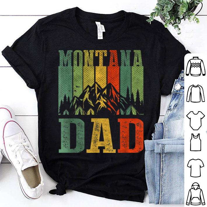 Montana Dad Vintage Pride For Father's Day shirt