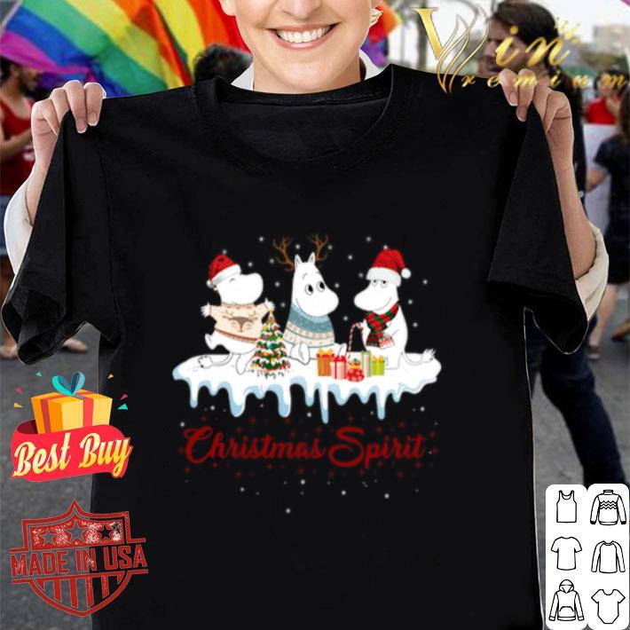 Moomin Christmas Spirit shirt