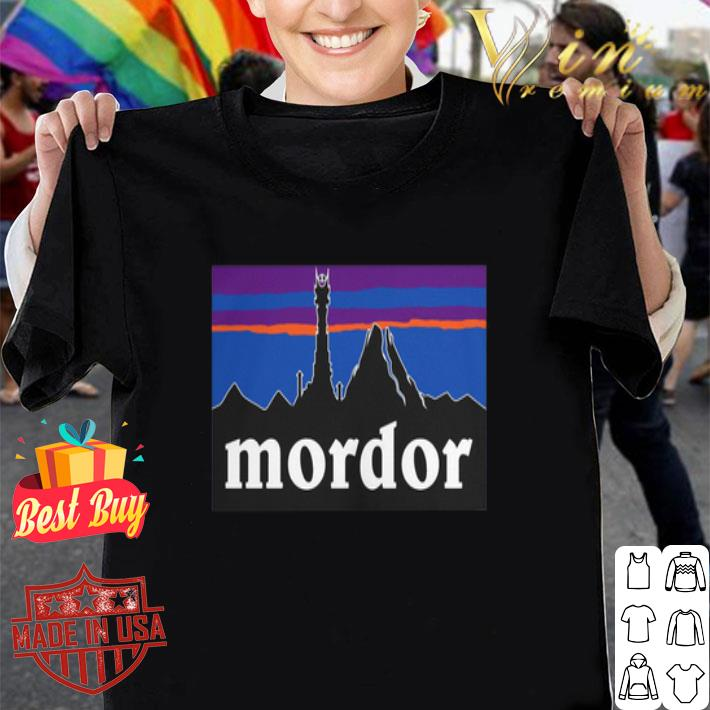 Mordor Middle Earth's shirt