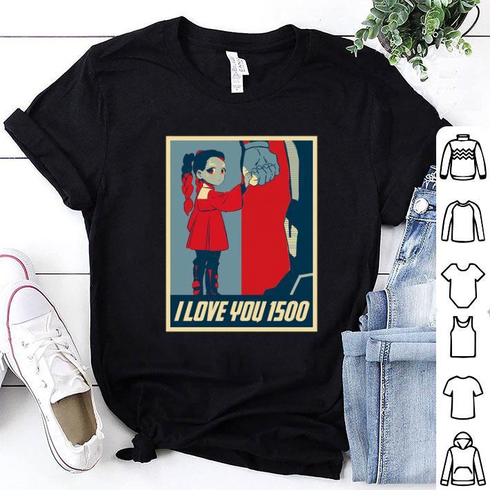 Morgan Stark I Love You 1500 shirt