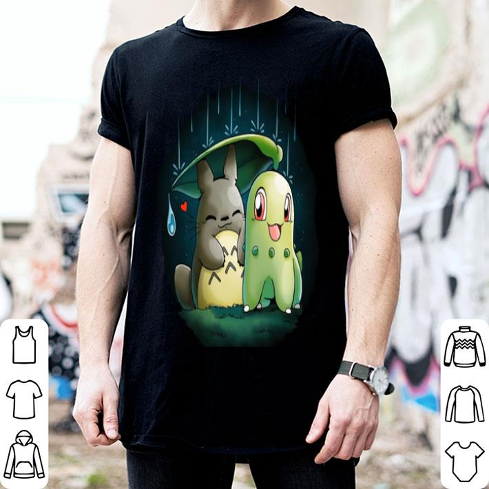 Nature Relationship Chikorita Studio Ghibli shirt