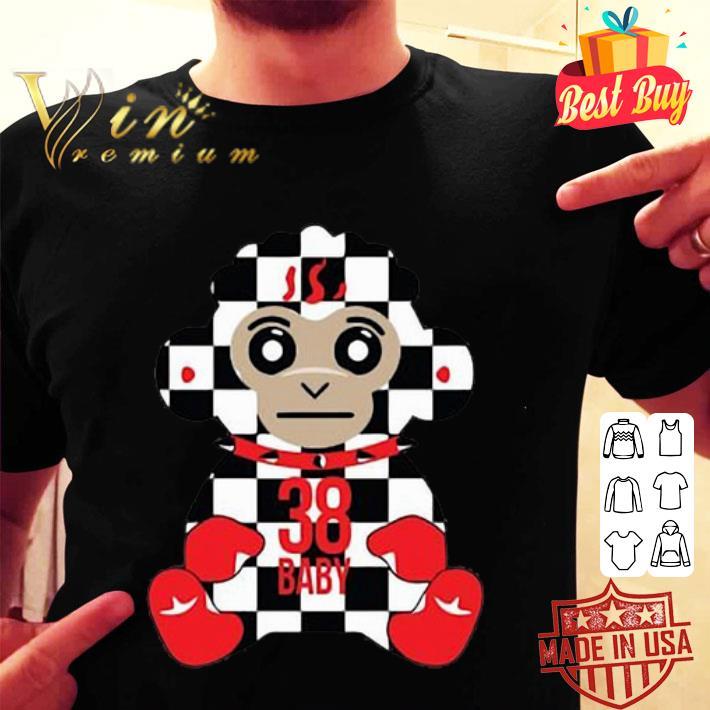 Never Broke Again 38 Baby Monkey Checkers shirt