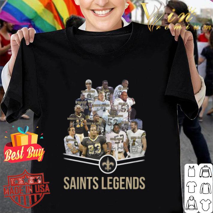 New Orleans Saints Logo Saints legends all signature shirt
