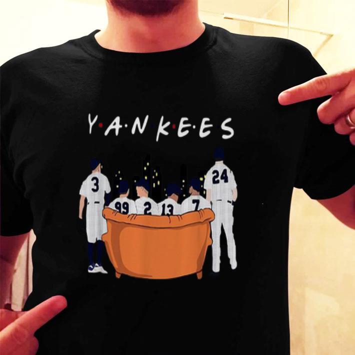 New York Yankees Friends Tv Show shirt