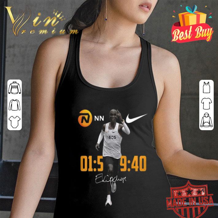 Nike Eliud Kipchoge Runs Marathon Under Two Hours signature shirt
