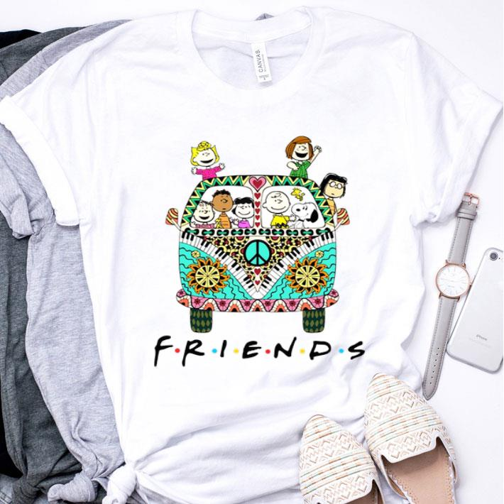 Peanuts Friends with Hippie bus shirt