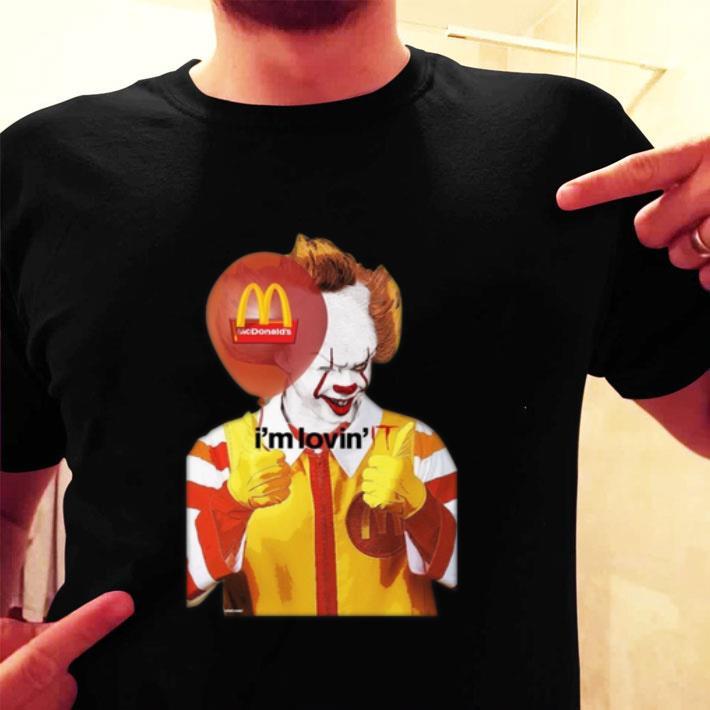 Pennywise McDonald's i'm lovin' IT shirt