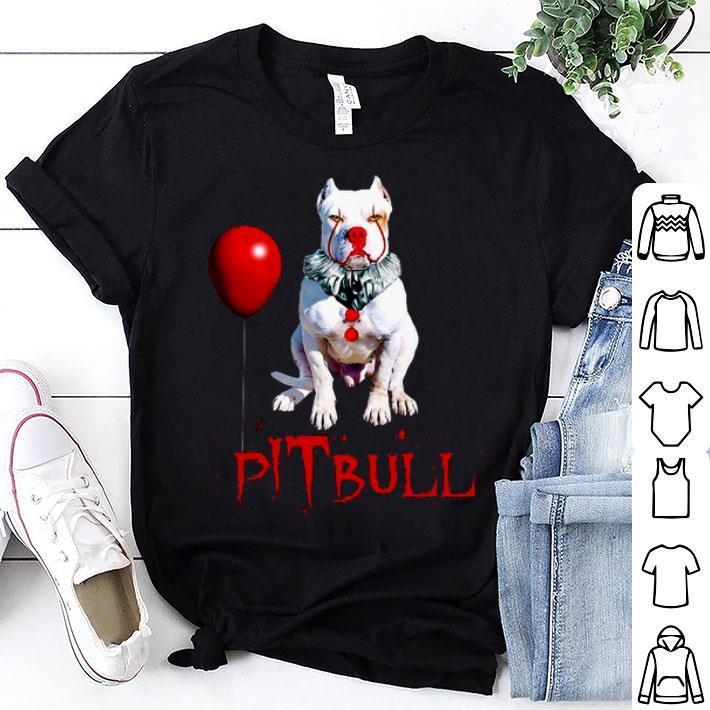 Pennywise pITbull Clown Halloween shirt