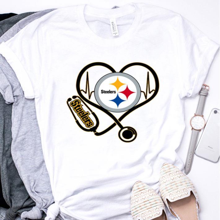 Pittsburgh Steelers Stethoscope shirt