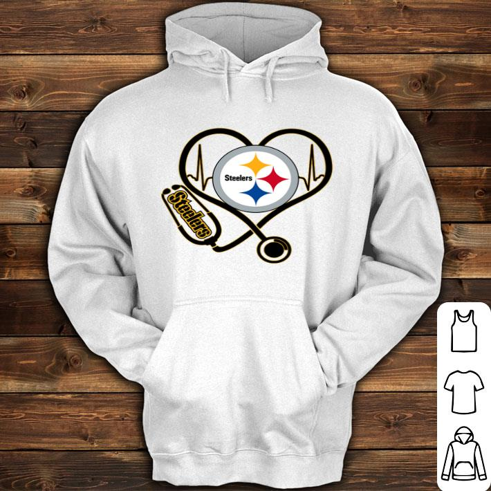 new product 62498 7c89a Pittsburgh Steelers Stethoscope shirt, hoodie, sweater, longsleeve t-shirt