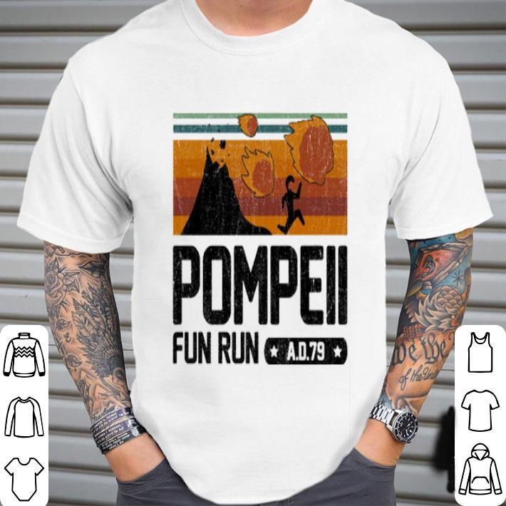 Pompeii fun run AD 79 shirt