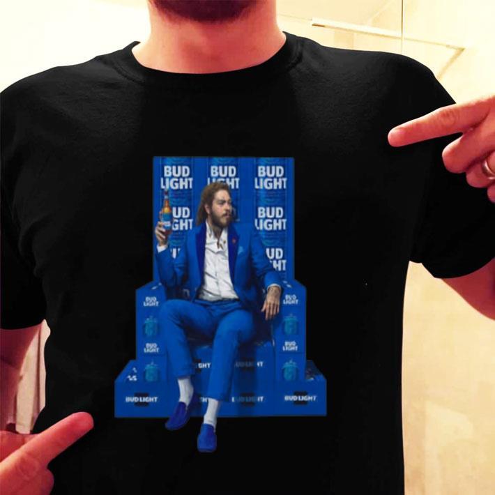Post Malone Bud Light shirt