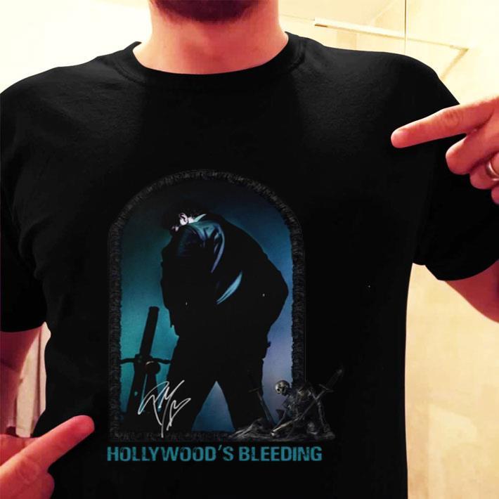 Post Malone Hollywood's bleeding signature shirt