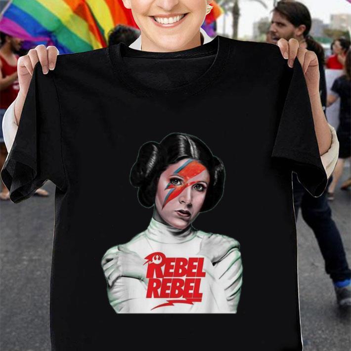 Princess Leia Rebel Rebel Star Wars shirt