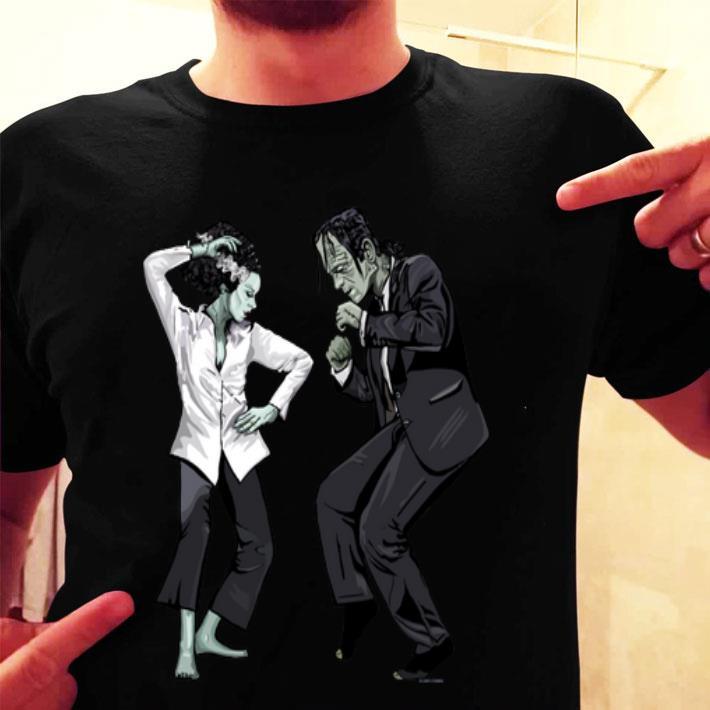 Pulp Frankenstein dance shirt