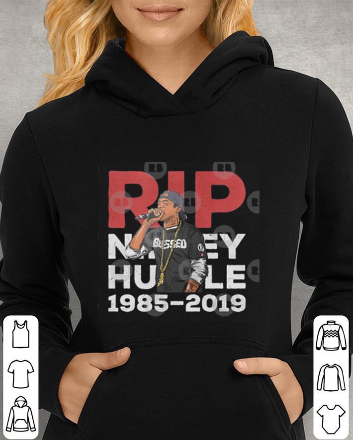 RIP Crenshaw Nipsey Hussle Too Nice Brother Mangap shirt 3