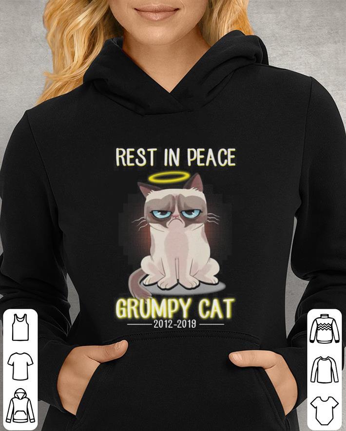 RIP Rest In Peace Grumpy cat 2012-2019 shirt