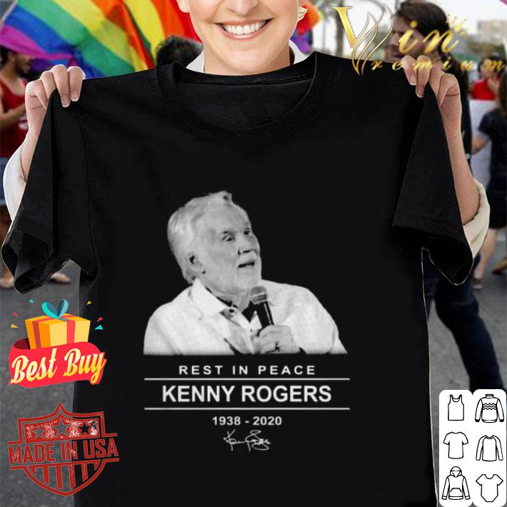 Rest in peace Kenny Rogers RIP 1938-2020 signature shirt