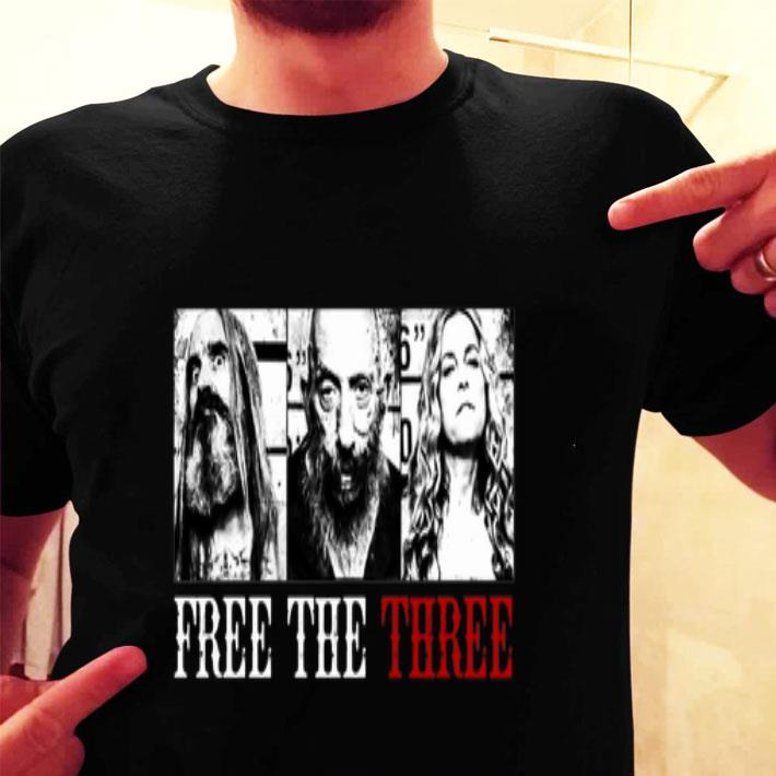 Rob Zombie free the three shirt