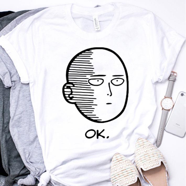 Saitama Ok Onepunch Man shirt