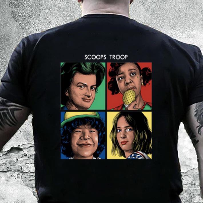Scoops Troop Stranger Things 3 shirt