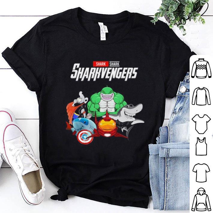 Shark Sharkvengers Marvel Avengers Endgame shirt 1