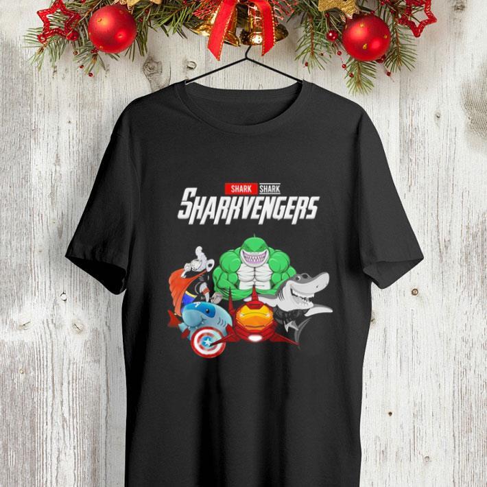 Shark Sharkvengers Marvel Avengers Endgame shirt