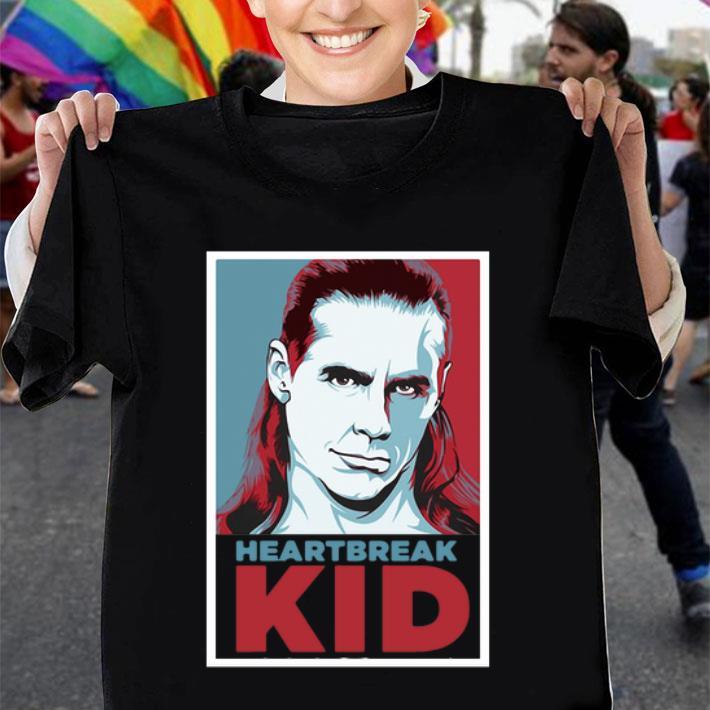 Shawn Michaels Heartbreak Kid Art shirt