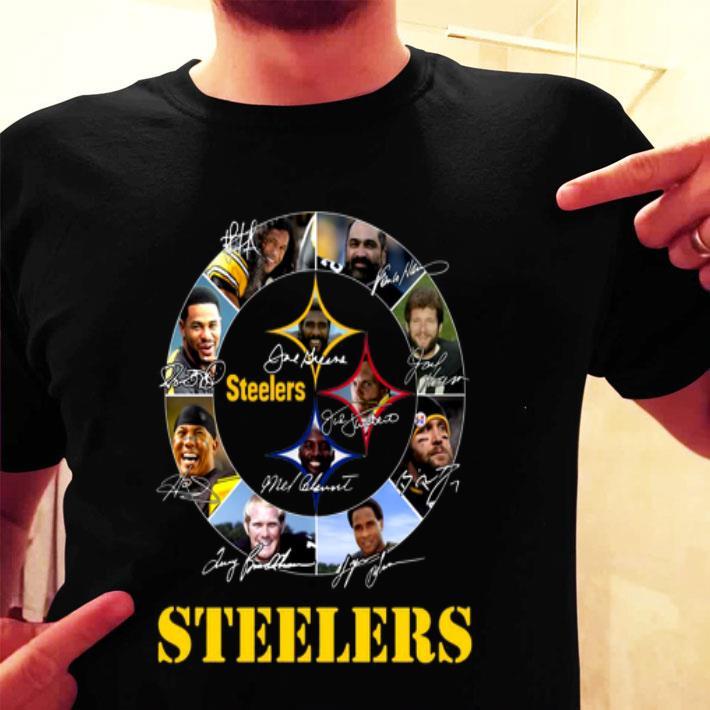 Signatures Pittsburgh Steelers Logo shirt