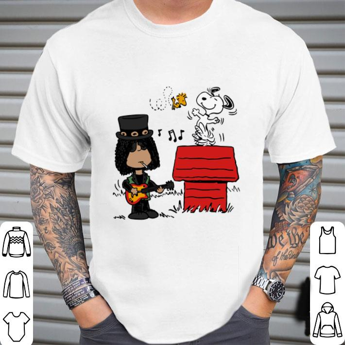 Slash and Snoopy Woodstock shirt