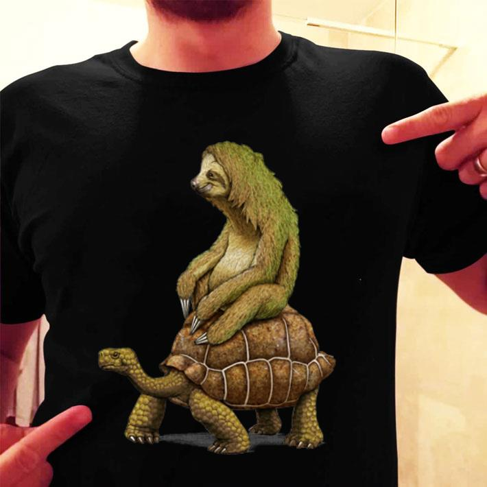 Sloth turtle speed is relative shirt
