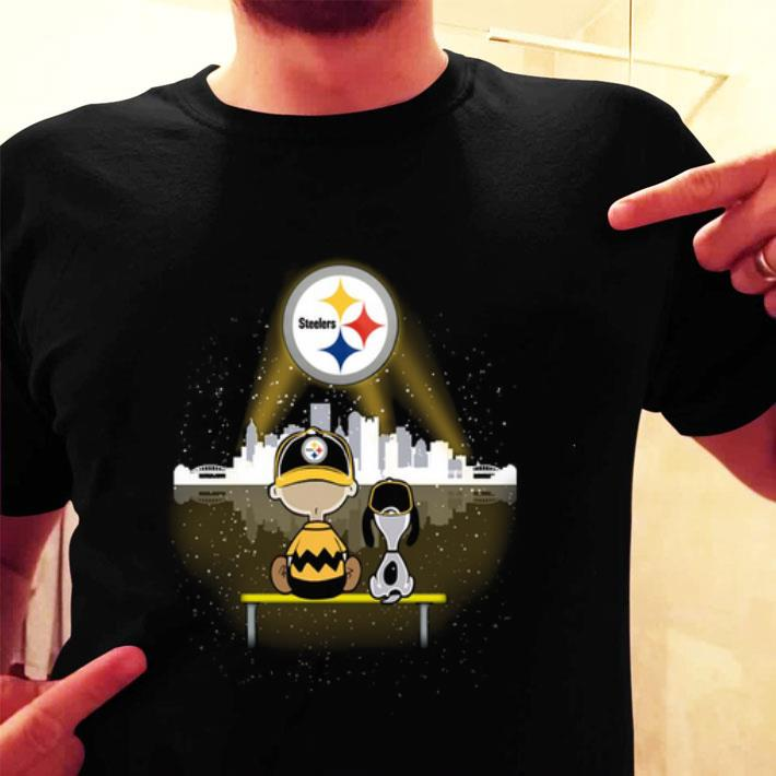 Snoopy and Charlie Brown Pittsburgh Steelers shirt