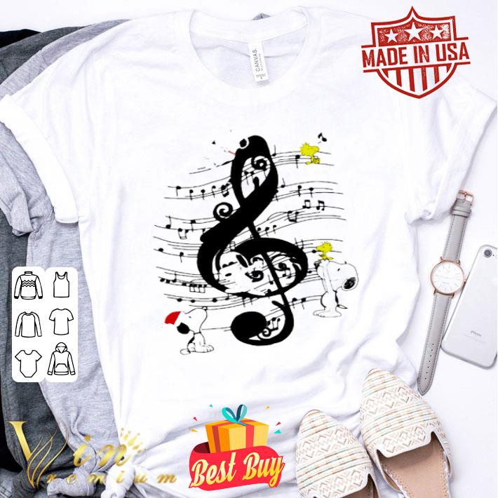Snoopy and Music note Peanuts shirt