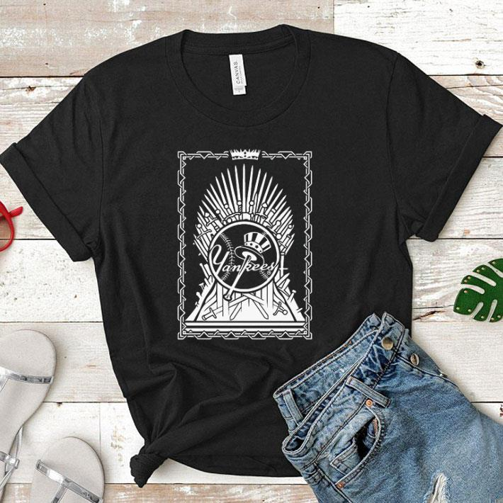 Softball Yankees Game Of Thrones shirt