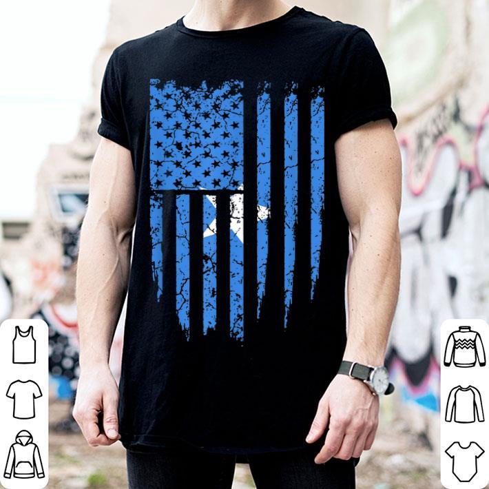 Somali American Somalia America Flag shirt