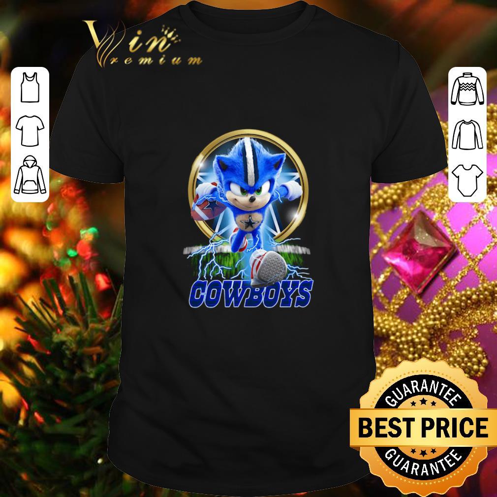 Sonic the Hedgehog Poster mashup Dallas Cowboys shirt