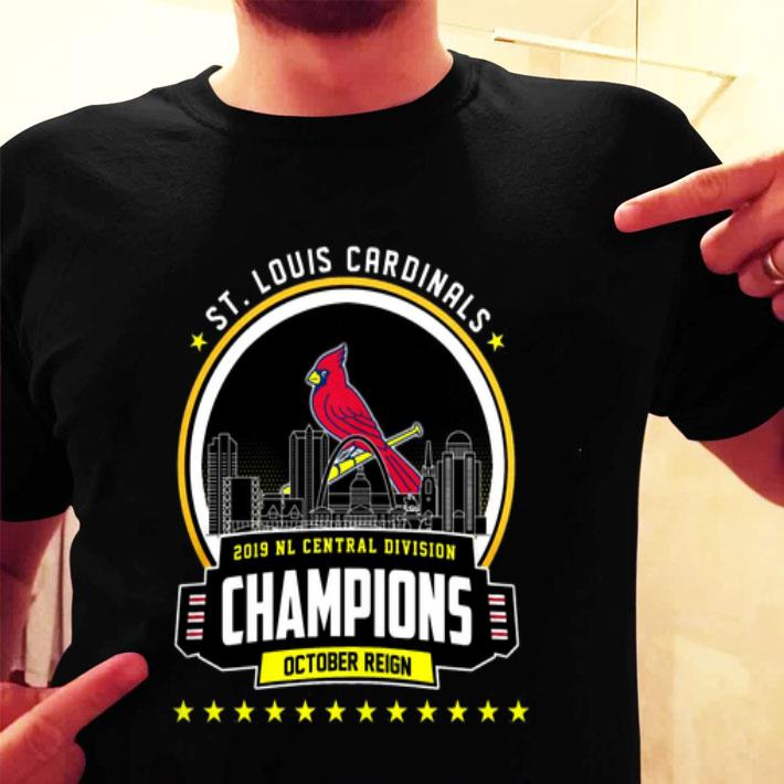 St. Louis Cardinals 2019 NL Central Division Champions October shirt