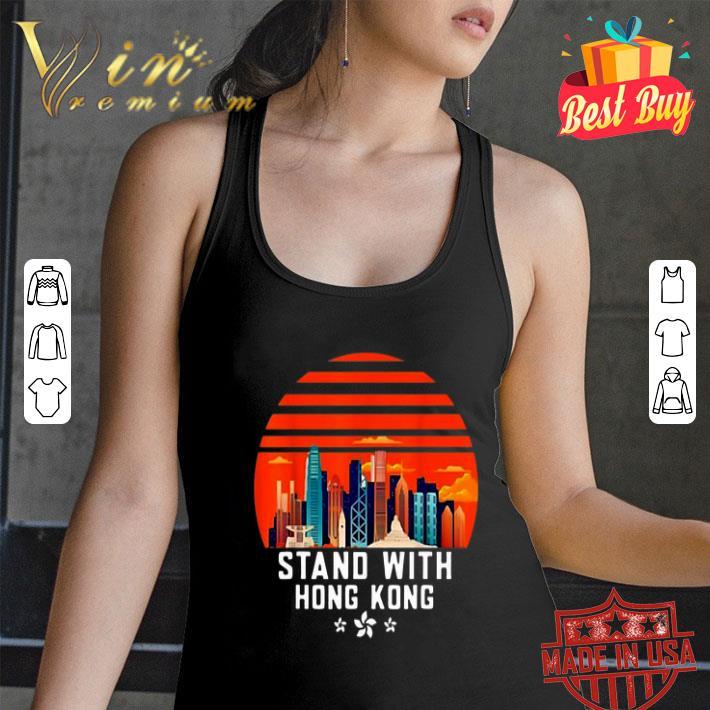 Stand With Hong Kong Sunset shirt