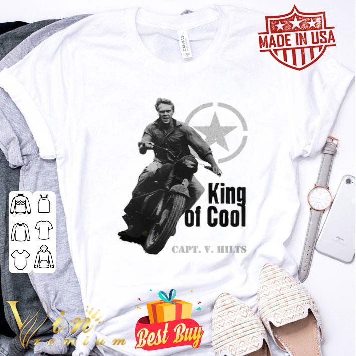 Steve McQueen King of Cool Capt. V. Hilts shirt