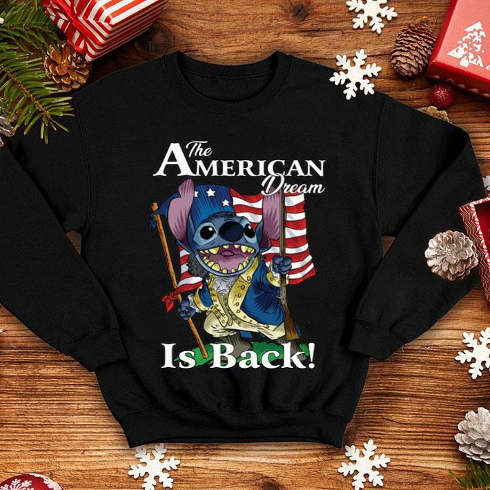 Stitch The American dream is back shirt