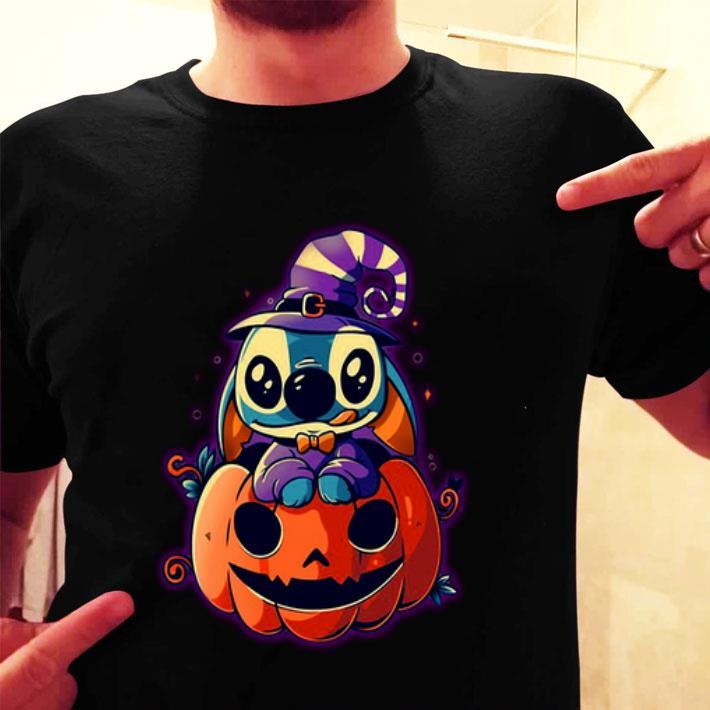Stitch and pumpkin shirt