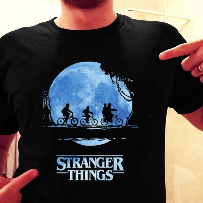 Stranger Things Season 3 Bike Rides moon shirt