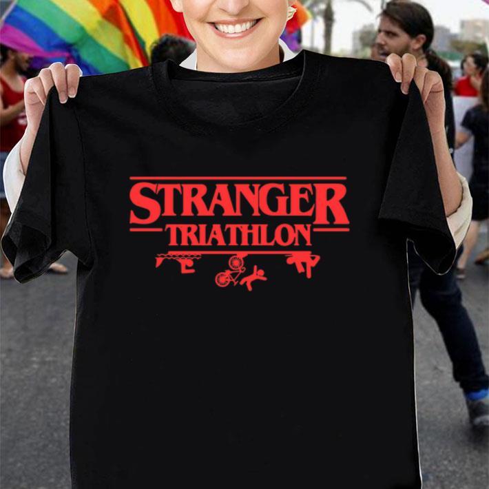 Stranger Triathlon Stranger Things shirt