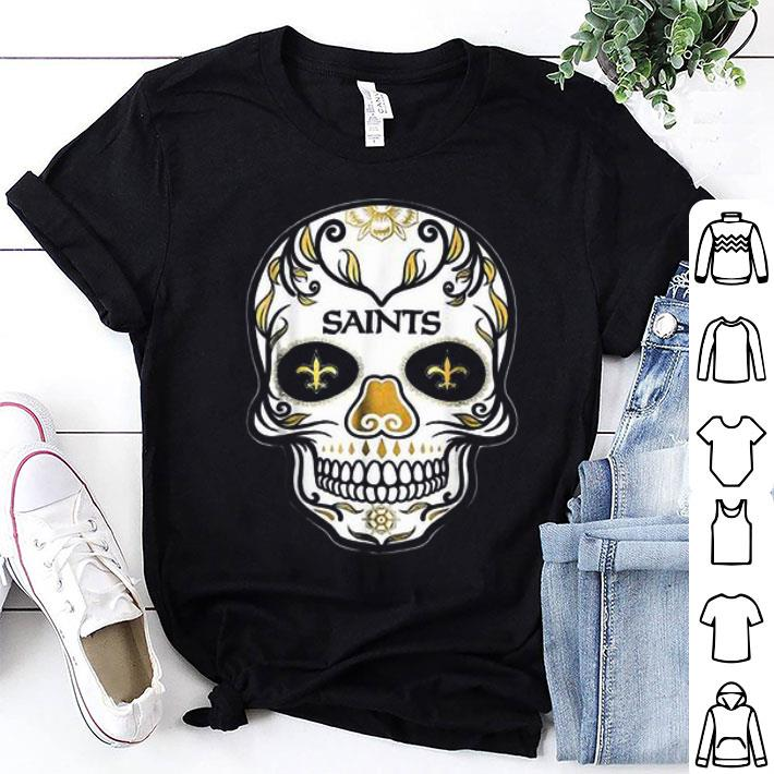 Sugar Skull New Orleans Saints shirt