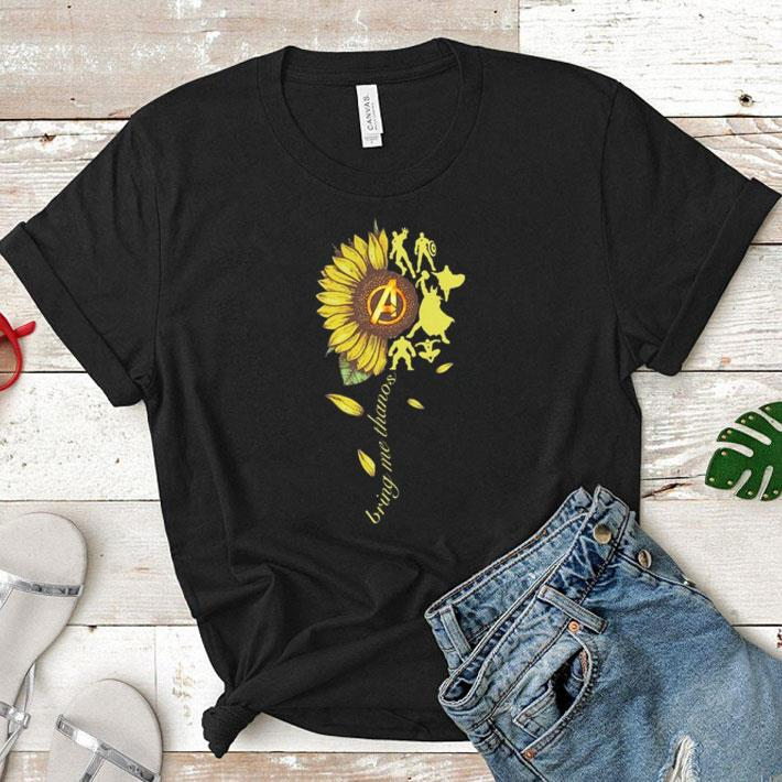 Sunflower Avengers Bring me Thanos shirt 1