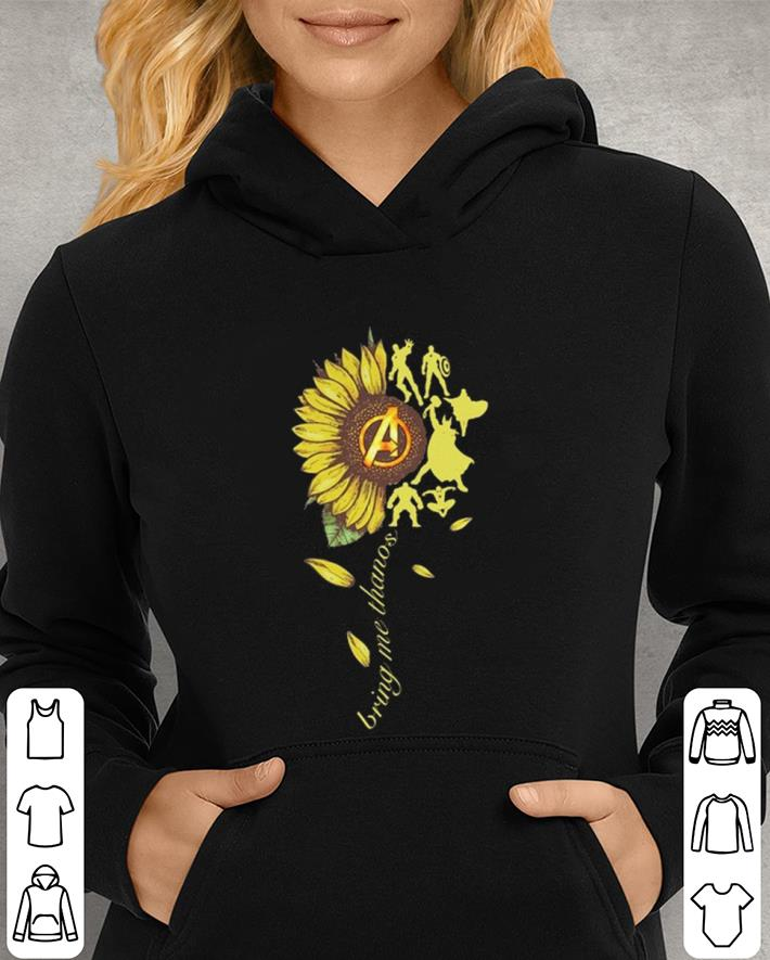 Sunflower Avengers Bring me Thanos shirt 3